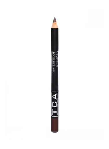 Tca Studio Make Up Waterproof Eyelıner - Dark Brown Kahve